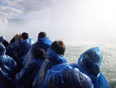 Niagara maid of the mist people
