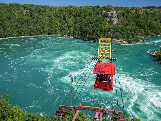 Niagara Falls Whirlpool Rapids Observation Deck