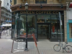 140 Yonge St Dineen Coffee Co